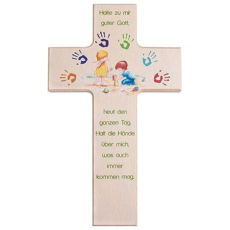 Arche Noah 15 cm Holzkreuz Kinder