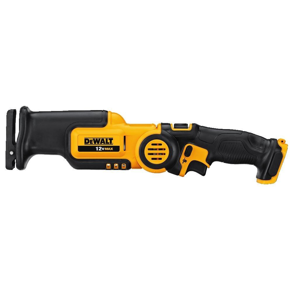 DEWALT 12V MAX Reciprocating Saw, Pivoting, Tool Only (CS310B) by DEWALT