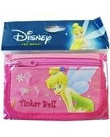 Disney Tinker Bell Mini Tri Fold Wallet Pink - Tinkerbell Wallets