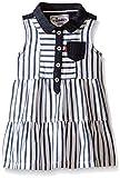 Levi's Baby Girls Denim Dress, True Navy/Star White, 12 Months