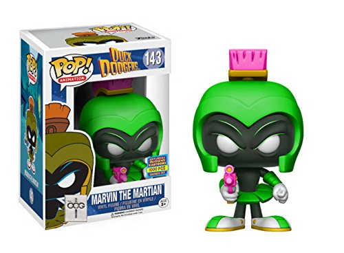 - Funko POP! SDCC 2017 - Duck Dodgers Marvin The Martian - Neon Green [Limited Edition of 1000]