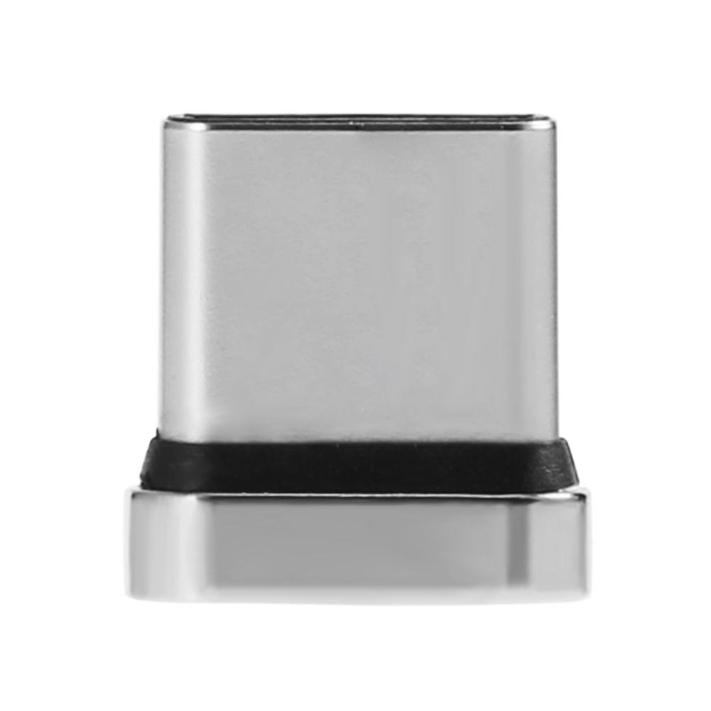LiChiLan - Adaptador magnético para teléfono móvil, Conector de Carga rápida para iOS y Android