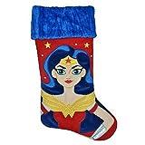 Wonder Woman DC Super Hero Girls Christmas 19'' Stocking
