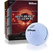 Wilson Sporting Goods Smart Core Golf Ball - Pack of 24 (White)