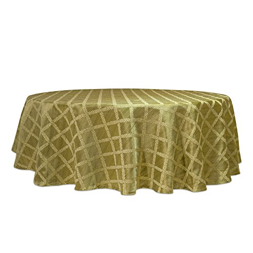 Lenox Laurel Leaf Oval Wide Tablecloth, 70