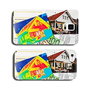 Save energy. House thermal imager cell phone cover case iPhone5