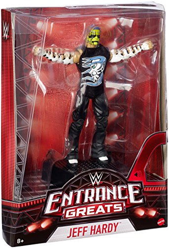 WWE JEFF HARDY ENTRANCE GREAT ACTION FIGURE WITH MUSIC