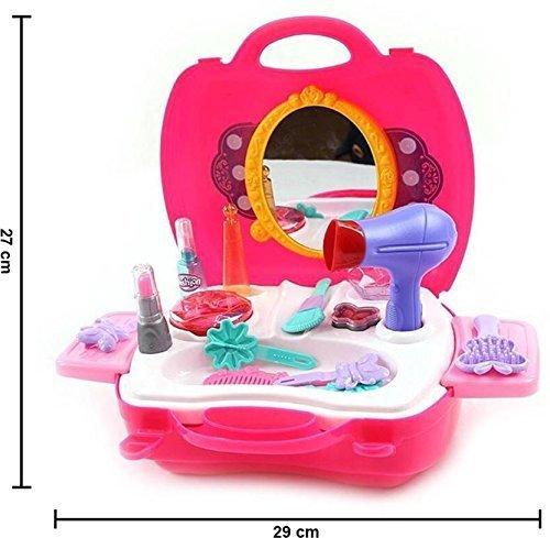 Pretend Play Make up Kit for Little Girls /& Kids 21 Pcs Beauty Toys box kit UK