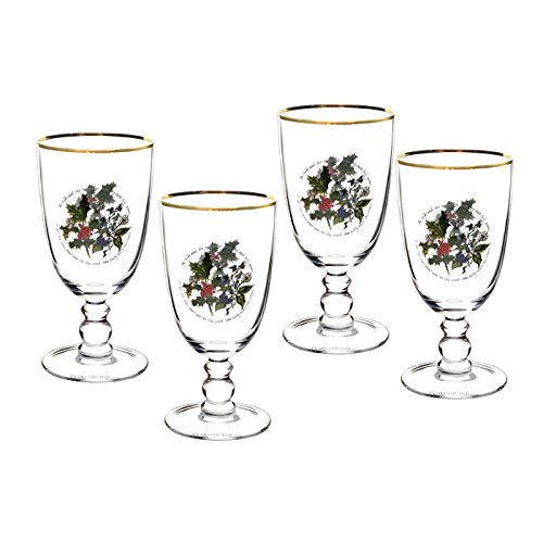 - Portmeirion The Holly & The Ivy S/4 Goblets