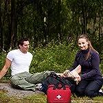 Kit vide de premiers soins en nylon Autoacc, sac de secours compact et léger pour les urgences à la maison, au bureau… 10