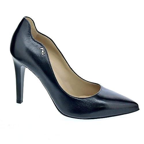 093a3564943 Nero Giardini 6860 - Zapatos tacón Mujer Negro Talla 38  Amazon.es  Zapatos  y complementos