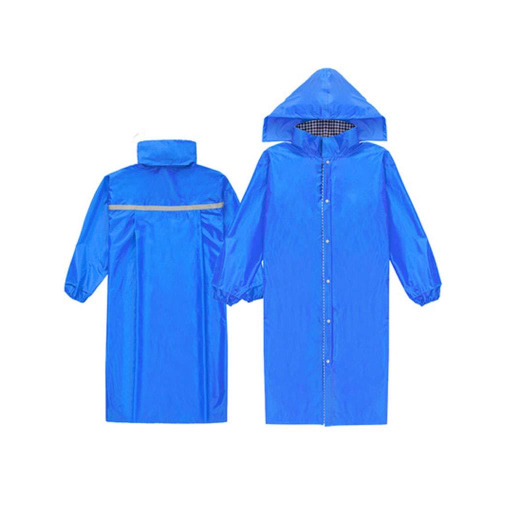 Royal bleu grand JTWJ Imperméables, imperméables pour randonnées en Plein air pour Adultes, Ponchos pour Hommes et Femmes (Couleur   Royal bleu, Taille   XXL)
