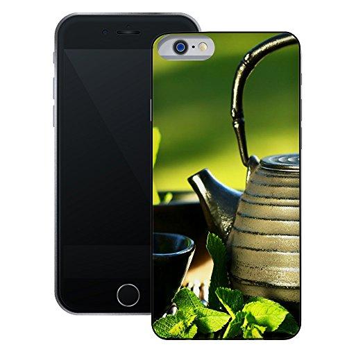 Teekanne   Handgefertigt   iPhone 6 6s (4,7')   Schwarze Hülle