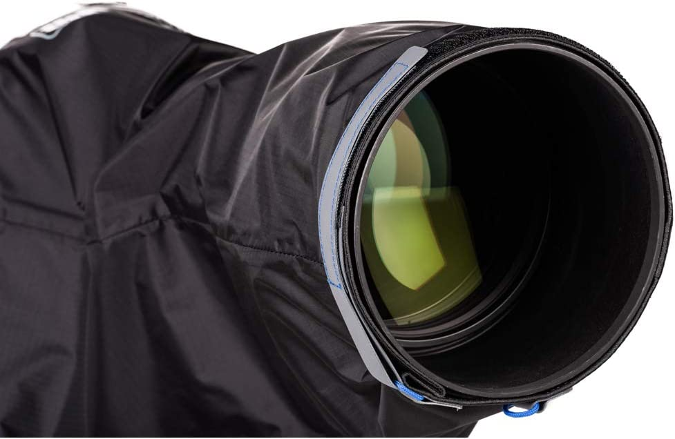 Large Think Tank Photo Emergency Rain Covers for DSLR and Mirrorless Cameras with up to a 600mm f//4 Lens