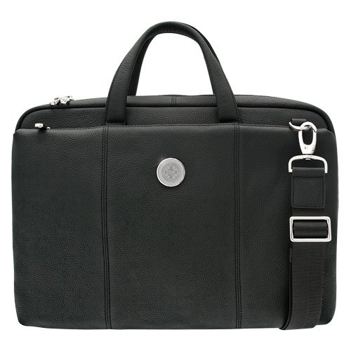 CSI Cannon Sports Boston University Mens Leather Briefcase