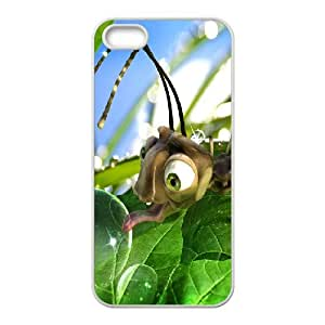 IPhone 5,5S Cases Bugs Life, IPhone 5,5S Cases Bug for Teen Girls Protective, [White]