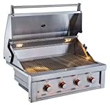 "SUNSTONE RUBY4B-NG 4 Burner Pro-Sear Natural Gas, 36"" SUNSTONE"