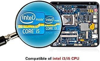 realan W60 Mini ITX – Caja de ordenador/HTPC funda sin fuente de ...