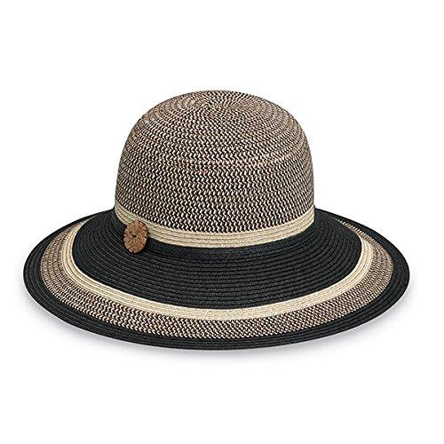 Wallaroo Women s Nola Sun Hat - 100% Paper Braid - UPF 50+ c4a7efbf803