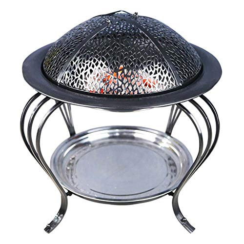 Jian E - (Barbecue)-Indoor Charcoal Fireplace Carbon Furnace Household Stove Heating Outdoor Grill Smokeless Carbon Furnace Charcoal Brazier Grilling Stove (Size : Large)