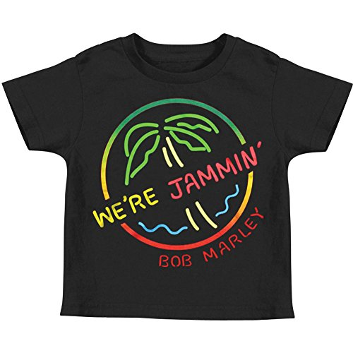 Bob Marley '79 Toddler T-shirt - Black (2T) ()
