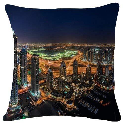 nuohaoshangmao 18x18 inches Plush Cushion Covers Throw Pillowcases - Kahlenberg Hills - Super Soft Fashion Simple Decorative Pillowcases -