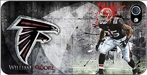 Atlanta Falcons NFL iPhone 4-4S Case v1 3102mss