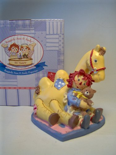 Raggedy Ann and the Camel Figuine By (Raggedy Camel)