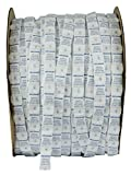 Dry-Packs 1/2G Continuous Strip Pillow packets Tyvek Roll of 12000 Silica Gel, White