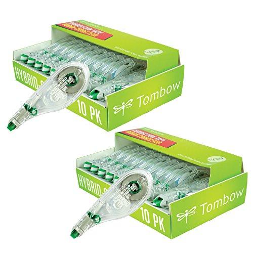 Tombow Mono Hybrid Correction Tape, 20-Pack