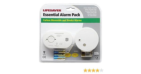 Kidde C01SA6 - Compacto Detector De Humo Y Monóxido De Carbono De Alarma: Amazon.es: Bricolaje y herramientas