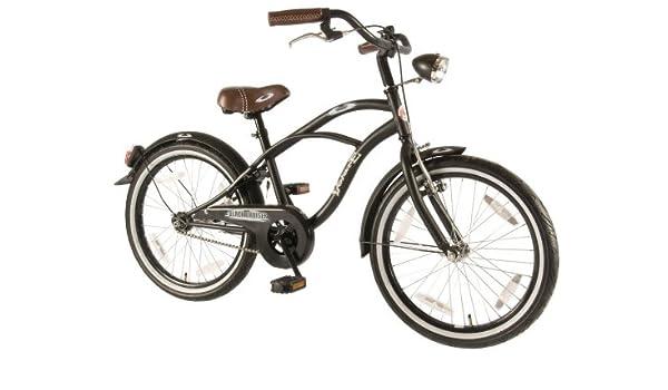 50,8 cm negro de moda crucero bicicleta Chopper estilo Baby-Rocker ...