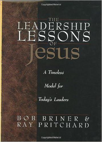 Descargar Torrent De Leadership Lessons Of Jesus Libro Epub