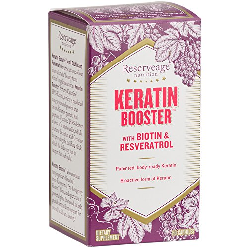 Reserveage - Keratin Booster with Biotin, for Healthy Hair,