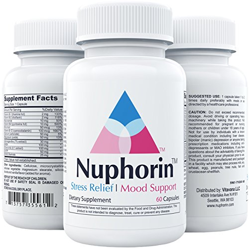 Nuphorin Mood Support, 60 Capsules