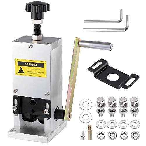 Yescom Manual Wire Stripping Machine+Drill Connector Cable Peeling Stripper Tool for Scrap Copper Recycling 0.06-0.98'' by Yescom (Image #1)
