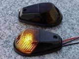i5 Black/Smoke Flush-Mount Turn Signals for Honda Kawasaki Suzuki Yamaha