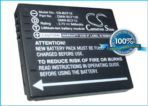 Battery for Panasonic Lumix DMC-FH20K Lumix DMC-FS8P Lumix DMC-FS7EG-P Lumix DMC