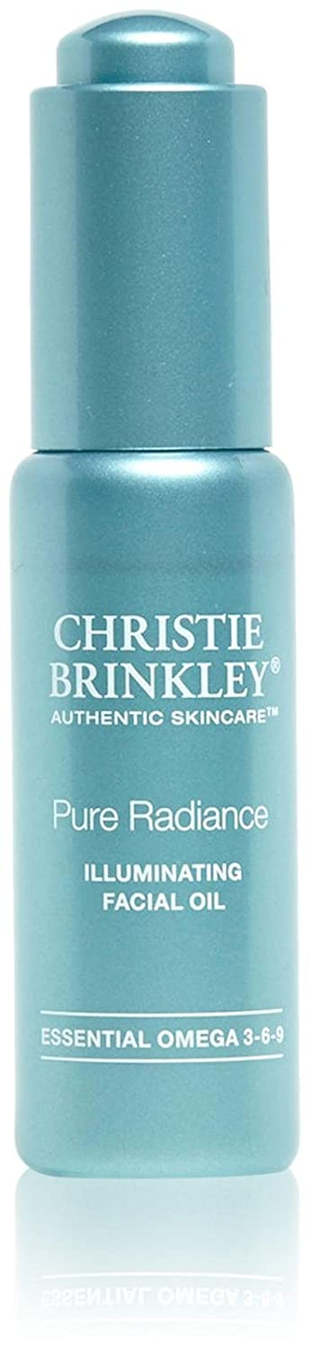 Christie Brinkley | Pure Radiance Illuminating Facial Oil - Restorative Facial Oil Treatment | 0.9 Ounces
