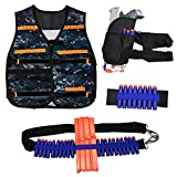 niceeshop(TM) Kids Tactical Vest Kits for Nerf Guns N-Strike Elite Series,Kids Toy Bullet