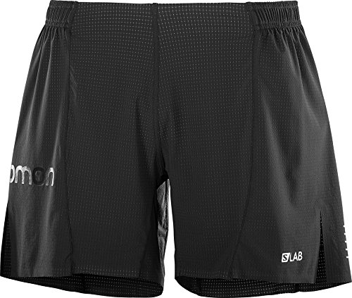 Salomon Men's S-Lab 6'' Shorts, Black, S