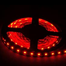 XT AUTO 12v 5M 3528 300 SMD Neon Red Led Car Flexible Waterproof Underbody Light Strip