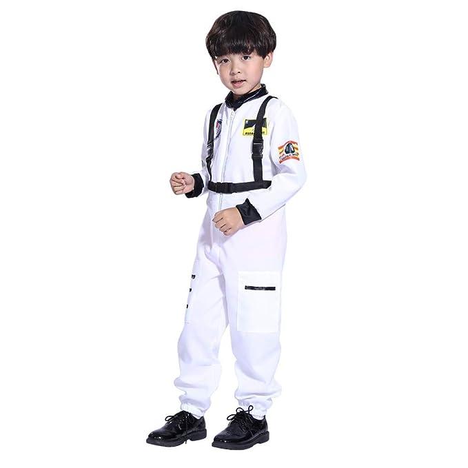 Niños niña Mono Juego de Roles Astronauta Cosplay Disfraz ...