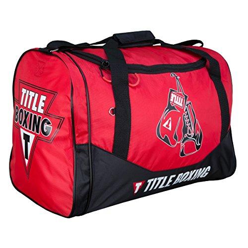 Cheap TITLE Individual Sport Bag V2.0, Red/Black