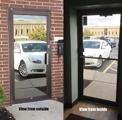 one way window film one way mirror window film 30quot gordon glass co 30