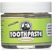 Uncle Harry's Fluoride Free Toothpaste - Cinnamon (3 oz glass jar)