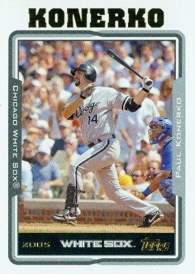2005 Topps Baseball Card # 174 Paul Konerko Chicago White Sox
