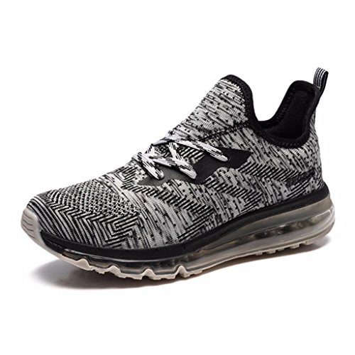 M Shoe Fashion Athletic Black Moonwalker Cushion US Lightweight Sneakers Running D Air 12 Women's n1xf58fP
