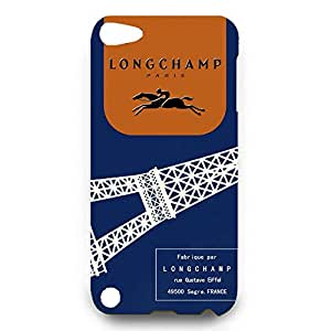 Longchamp Horse Logo Back Cover For Ipod Touch 5th 3D Hard Plastic Case