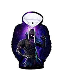 Mvruve Fortnite Hoodie Girls Boys Crewneck Hooded Sweatshirt